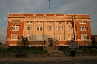 Conway County, Arkansas - Image: Court House Morrilton