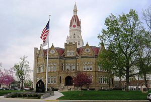 Pike County Courthouse, Pittsfield