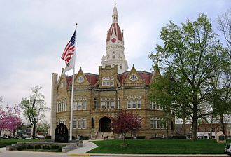 Pike County, Illinois - Image: Courthouse, Pike County, Illinois