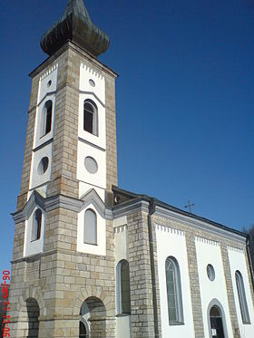 L'église Saint-Pierre et Saint-Paul de Koprivno
