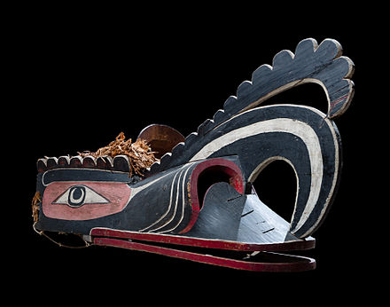 Crooked Beak of Heaven Mask, Kwakwaka'wakw, 19th century Crooked Beak of Heaven Mask.jpg