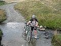 Crossing the ford below Tyn Cornel Hostel - geograph.org.uk - 821469.jpg