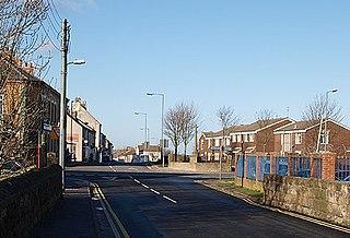 Lingdale village in United Kingdom