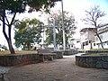 Cruz que deu o nome ao lugar, Santa Cruz de Minas - panoramio.jpg