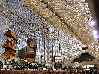 Crystal Cathedral - Church interior in 2005