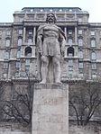 Dózsa Memorial. György Dózsa. - Dózsa Square, Budapest.JPG