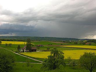 Canton of Schaffhausen - Countryside near Dörflingen
