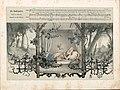 """Düsseldorfer Lieder-Album, Arnz & Co. 1851, S. 25 – """"Die Nachtigallen"""" Gedicht von Joseph von Eichendorff, Komponist Carl Reinecke, Farblithografie nach Illustration von Rudolph Jordan.jpg"""