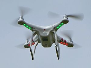 Multirotor - A DJI phantom 1, a quadcopter
