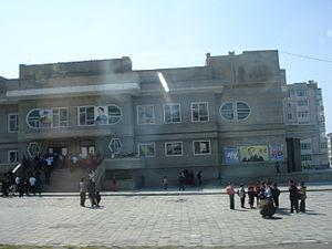 Education in North Korea - A primary school.