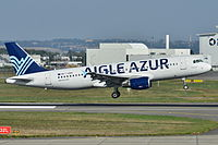 F-HBIB - A320 - Aigle Azur