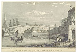 Sarah's Bridge, ca 1820
