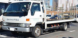 Daihatsu Delta - Image: Daihatsu Delta Truck 4th
