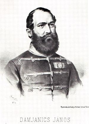 János Damjanich - Image: Damjanics János