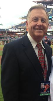 Dan Baker (PA announcer) American baseball player