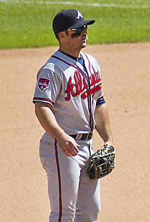 Dan Uggla - Uggla with the Atlanta Braves in 2014