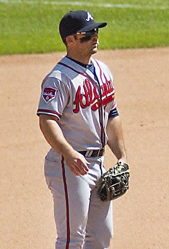 Dan Uggla - Uggla with the Atlanta Braves in 2014