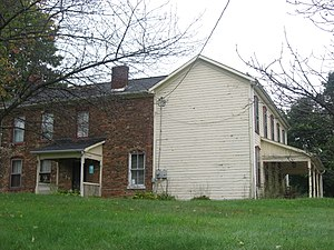 National Register of Historic Places listings in Brooke County, West Virginia - Image: Danforth Brown House