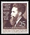 Danzig Wilhelm Konrad Röntgen 25 Pf 1939.jpg