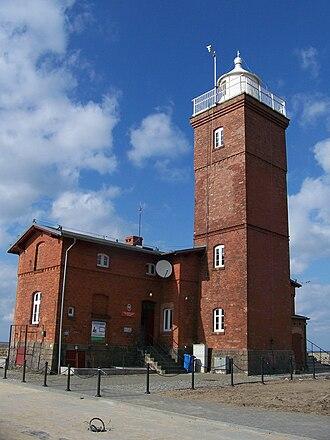 Darłowo - Lighthouse at Darłowo harbour