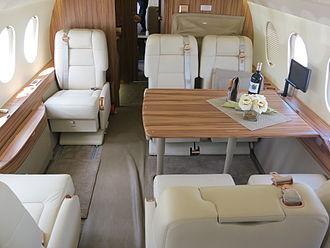 Dassault Falcon 2000 - Dassault Falcon 2000 interior