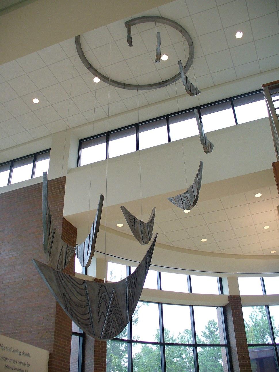 David Ascalon Kinetic Sculpture Mobile memphis TN