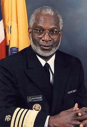Nonviolent video game - Image: David Satcher official photo portrait