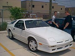 Dodge Daytona Shelby 1989r