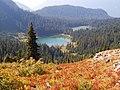 Deadwood Lakes in Mount Rainier National Park seen from the east.jpg