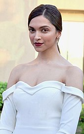 A headshot shot of Deepika Padukone