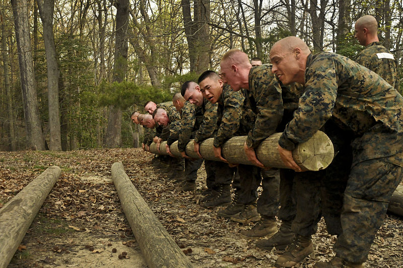 File news photo 120324 m ms992 583 u s marine corps officer candidates with - Officer training school marines ...