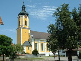 Dellmensingen parish church St Cosmas and Damian.JPG