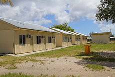 Demountable buildings - State House immigration processing compound, Nauru.jpg
