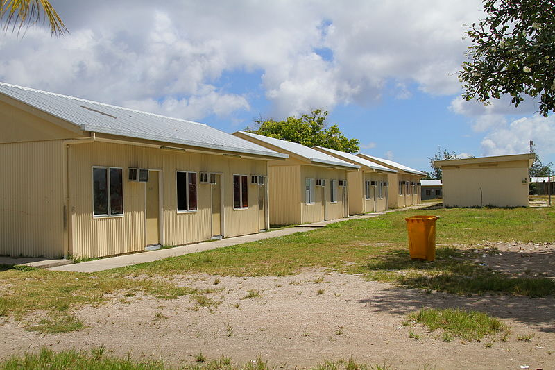 File:Demountable buildings - State House immigration processing compound, Nauru.jpg