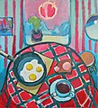 Denis Barsukov Breakfast at the dacha 2006 oil on canvas.jpg