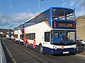 Dennis Trident 2 bus with an Alexander ALX400 body at Bicester, Oxfordshire 02.jpg