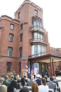 St. Elizabeths Hospital former psychiatric hospital in Washington, D.C.