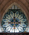 Derry St. Eugene's Cathedral Rose Window 2013 09 17.jpg