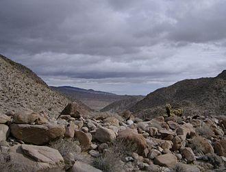 Deserts of California - Desert landscape in the Mojave Desert