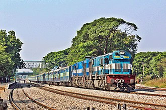 Devagiri Express - Devgiri Express nearing Secunderabad