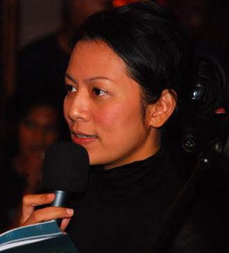 Dewi Lestari - Dewi Lestari at the Ubud Writers and Readers Festival (2010)