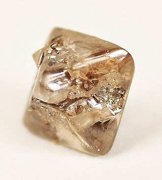 Argyle diamond mine - A large brown Argyle diamond, 3.6 carats