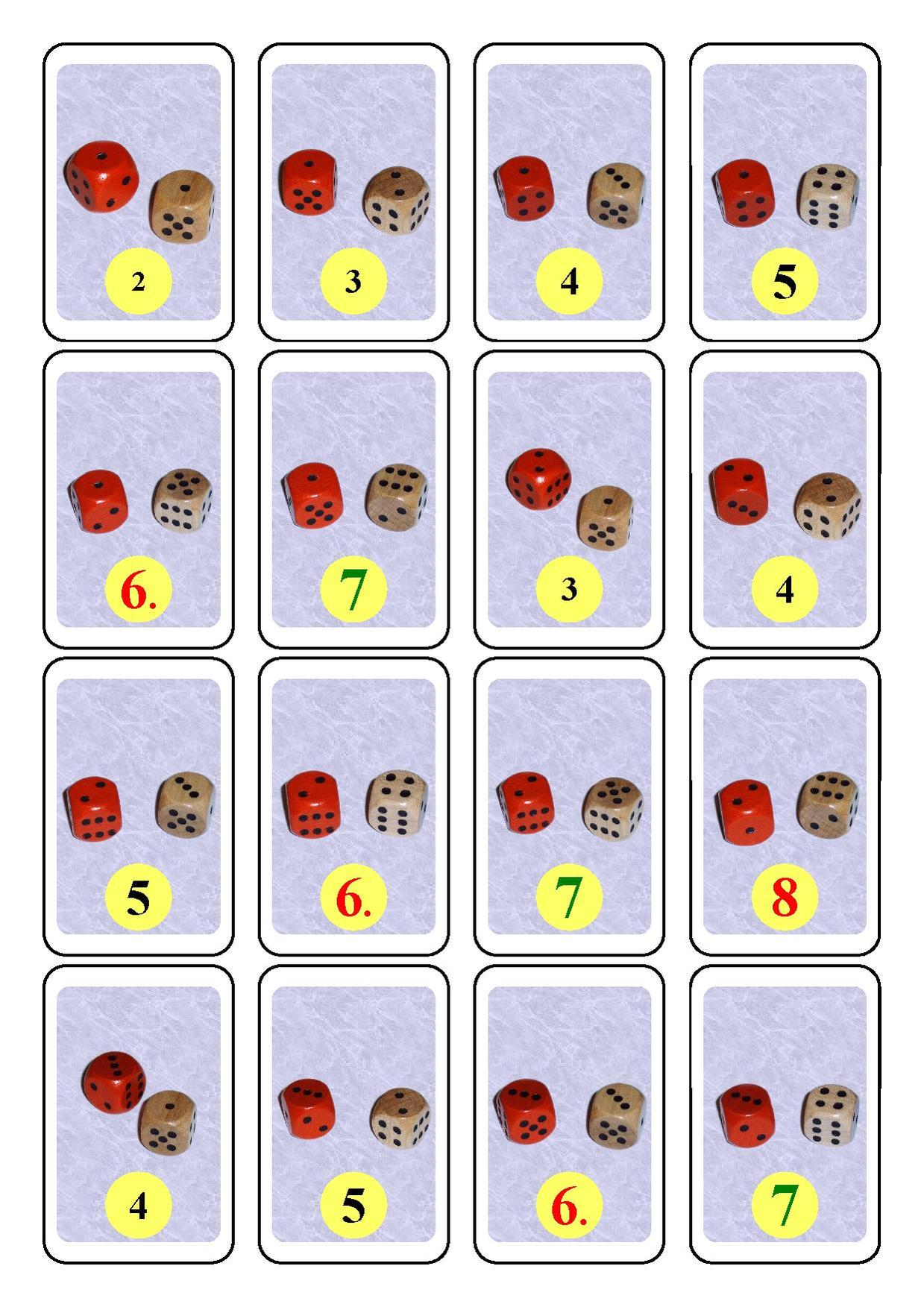 Dices 2 Cards