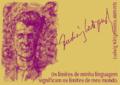 Die Grenzen meiner Sprache bedeuten die Grenzen meiner Welt. Ludwig Wittgenstein, 1889-1951 -pt.png