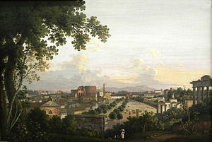 Albert Christoph Dies - Image: Dies Albert Chr Forum Romanum