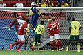 Dinamarca x África do Sul - Futebol masculino - Olimpíadas Rio 2016 (28758752151).jpg