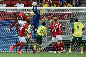 Jeppe Højbjerg - Image: Dinamarca x África do Sul Futebol masculino Olimpíadas Rio 2016 (28758752151)