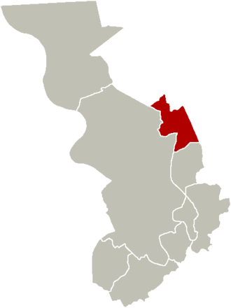 Ekeren - Image: District Ekeren Location