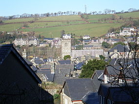 Dolgellau-Across the rooftops to St Mary's.jpg