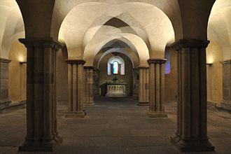 Merseburg Cathedral - Crypt